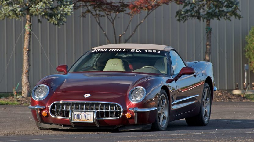 2003 Chevrolet Corvette 50th Anniversary Conversion presented as lot S133 at Canal Winchester, OH 2010 - image2