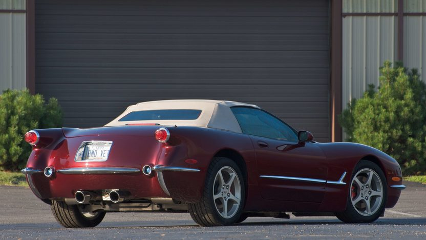 2003 Chevrolet Corvette 50th Anniversary Conversion presented as lot S133 at Canal Winchester, OH 2010 - image4