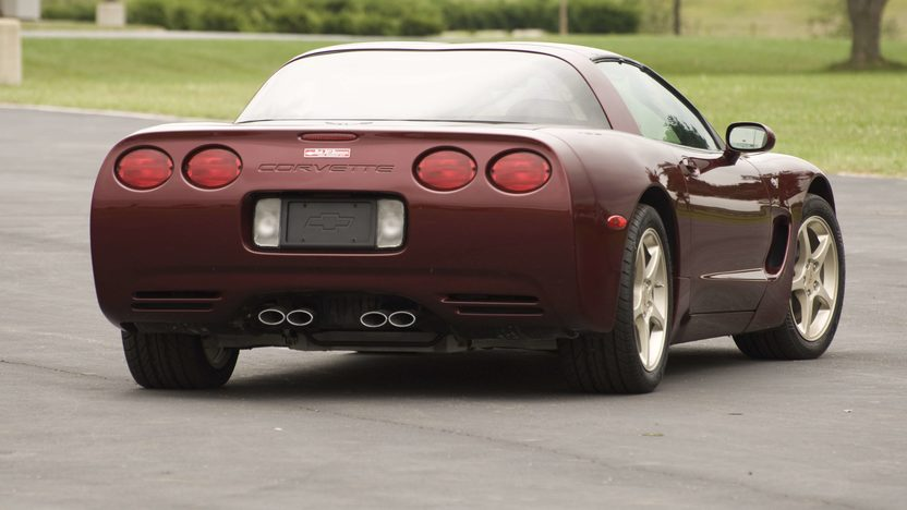 2003 Chevrolet Corvette Coupe Serial #3, 1G1YY22G935100003 presented as lot S134 at Canal Winchester, OH 2010 - image2