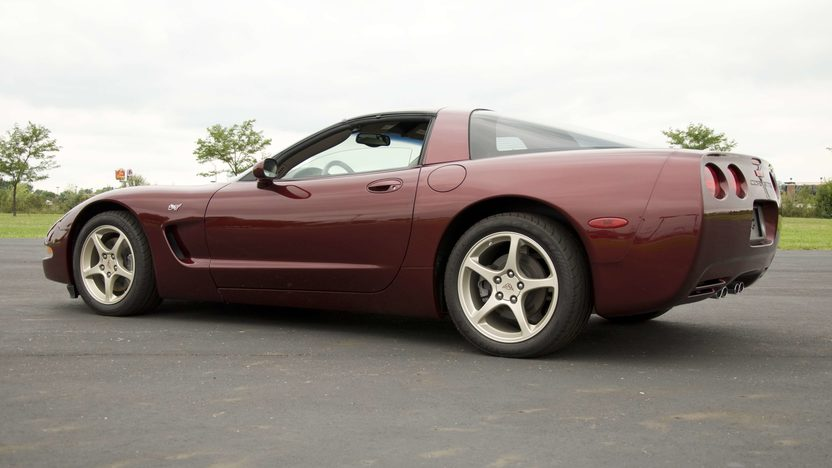 2003 Chevrolet Corvette Coupe Serial #3, 1G1YY22G935100003 presented as lot S134 at Canal Winchester, OH 2010 - image3
