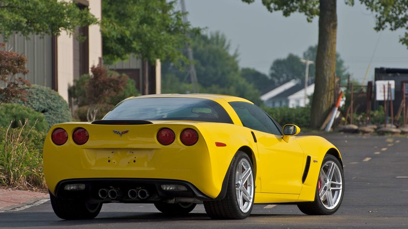 2007 Chevrolet Corvette Z06 Coupe Serial #1, 1G1YY25E575100001 presented as lot S141 at Canal Winchester, OH 2010 - image2
