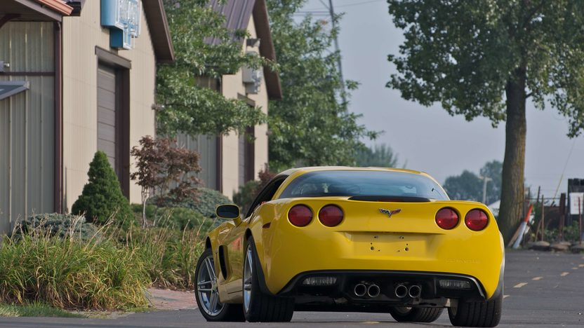 2007 Chevrolet Corvette Z06 Coupe Serial #1, 1G1YY25E575100001 presented as lot S141 at Canal Winchester, OH 2010 - image3
