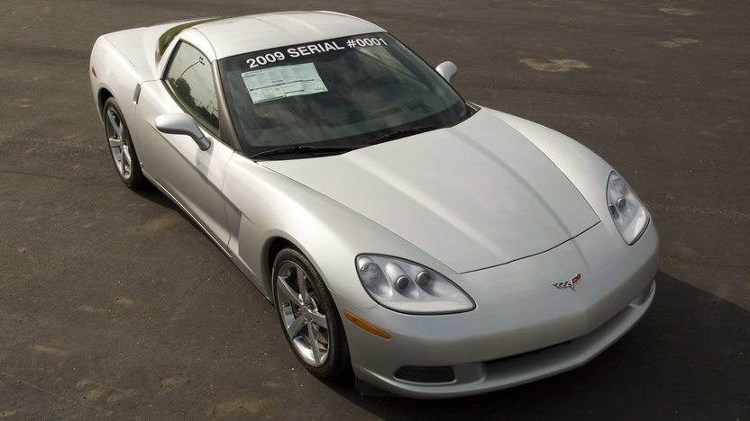 2009 Chevrolet Corvette Coupe Serial #1, 1G1YY26W295100001 presented as lot S145 at Canal Winchester, OH 2010 - image2