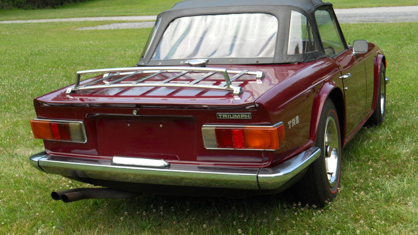 1971 Triumph TR6 Roadster 2498/104 HP, 4-Speed presented as lot T25 at Harrisburg, PA 2014 - image3