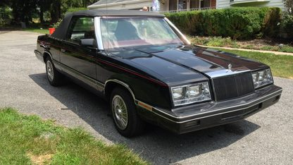 1983 Chrysler LeBaron Convertible
