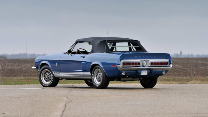 1968 Shelby GT350 Convertible 302/250 HP, 4-Speed presented as lot S168 at Harrisburg, PA 2014 - image3