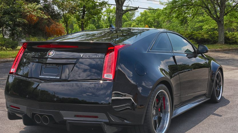 2012 Cadillac CTS-VR Hennessey 1250 HP, 6-Speed presented as lot S196 at Harrisburg, PA 2014 - image2