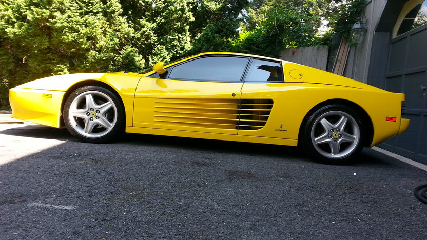 1993 Ferrari Testarossa 512 TR presented as lot S199 at Harrisburg, PA 2014 - image2