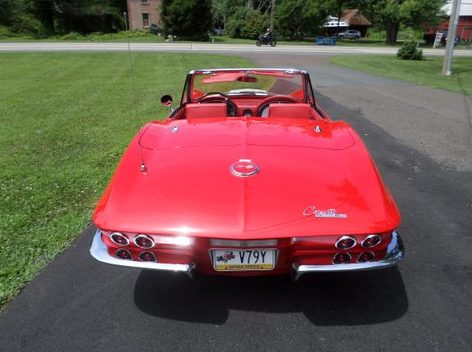 1963 Chevrolet Corvette Resto Mod presented as lot S208 at Harrisburg, PA 2014 - image3