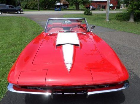 1963 Chevrolet Corvette Resto Mod presented as lot S208 at Harrisburg, PA 2014 - image7