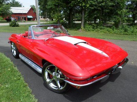 1963 Chevrolet Corvette Resto Mod presented as lot S208 at Harrisburg, PA 2014 - image8