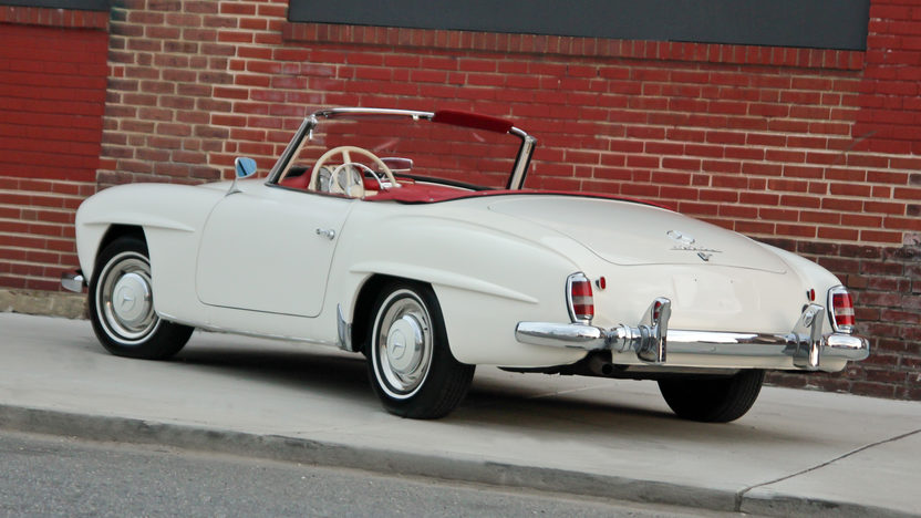 1959 Mercedes-Benz 190SL Roadster presented as lot S158 at Harrisburg, PA 2014 - image3