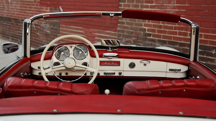 1959 Mercedes-Benz 190SL Roadster presented as lot S158 at Harrisburg, PA 2014 - image6
