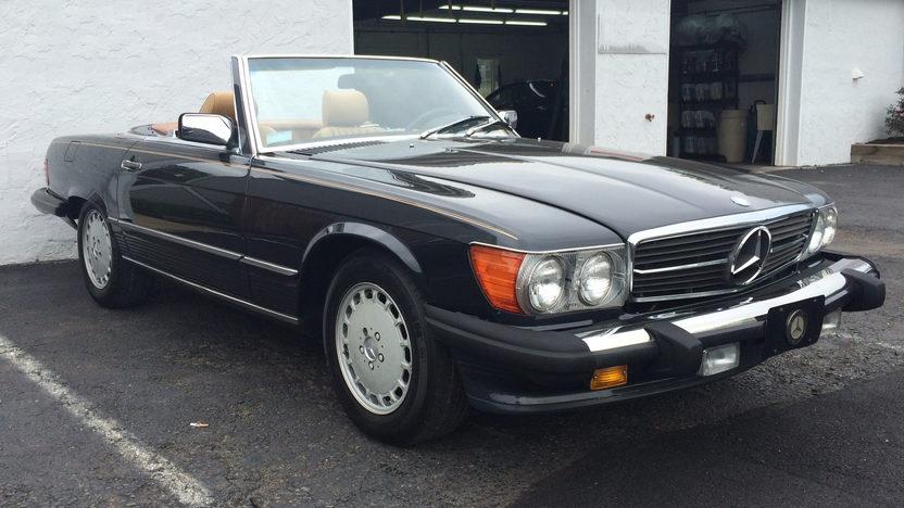 1988 mercedes benz 560sl convertible mecum harrisburg for Mercedes benz harrisburg