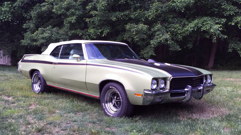 1972 Buick Skylark Gsx Replica 455 Ci Automatic Presented