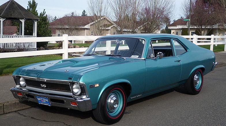 1968 Chevrolet Copo Nova Ss Mecum Portland 2016 S116