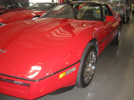 1989 Chevrolet Corvette 5.7L, Automatic presented as lot W89 at Indianapolis, IN 2009 - image8