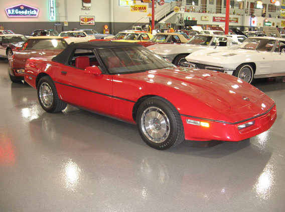 1987 Chevrolet Corvette Convertible Z-52 Package, 4-Speed presented as lot W110 at Indianapolis, IN 2009 - image2
