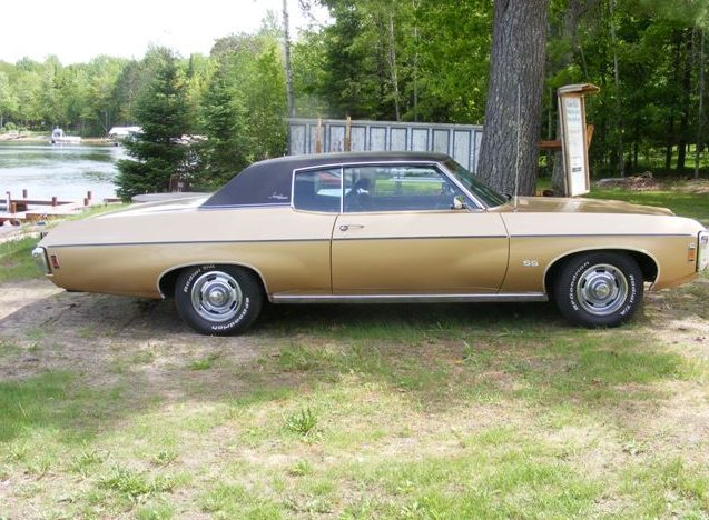 1969 Chevrolet Impala Ss Custom Coupe Mecum Indianapolis