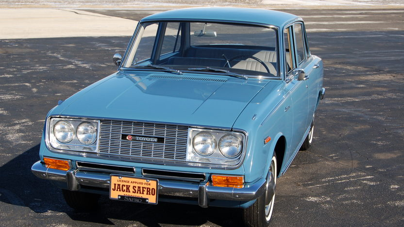 1966 Toyota Corona Sedan 1.9L, Automatic, 8,769 Original Miles presented as lot T203 at Indianapolis, IN 2009 - image3