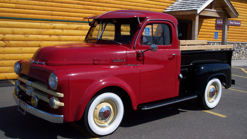 1953 Dodge Half Ton Pickup 3-Speed  presented as lot F116 at Indianapolis, IN 2009 - image2