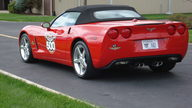 2005 Chevrolet Corvette Convertible Indianapolis 500 Track Car presented as lot F200 at Indianapolis, IN 2009 - thumbail image4