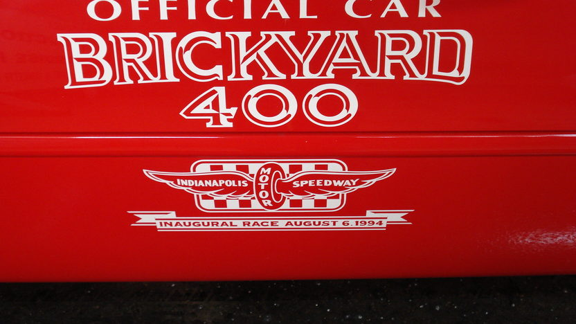 1994 Chevrolet Corvette Convertible Inaugural Brickyard 400 Festival Car presented as lot F198 at Indianapolis, IN 2009 - image2