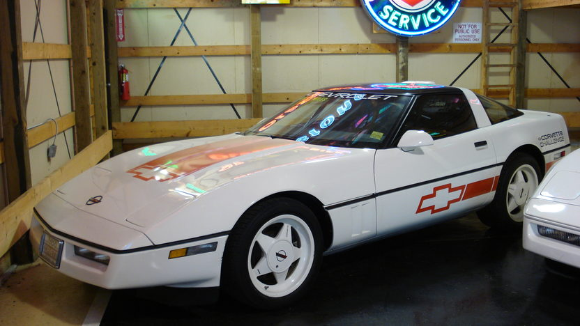 1988 Chevrolet Corvette Challenge Car, 1 of 56 presented as lot F207 at Indianapolis, IN 2009 - image2