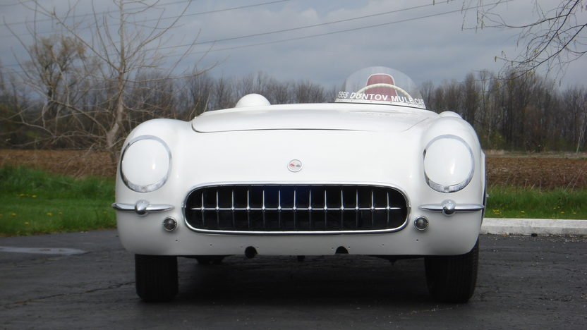 1955 Chevrolet Corvette Duntov Test Mule EX-87 presented as lot F208 at Indianapolis, IN 2009 - image2