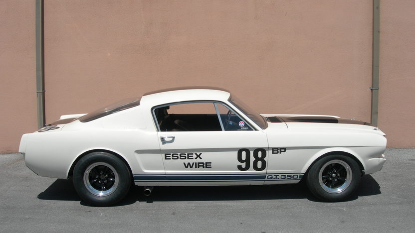 1965 Shelby Mustang GT350 R The Essex Wire Car presented as lot F241 at Indianapolis, IN 2009 - image8