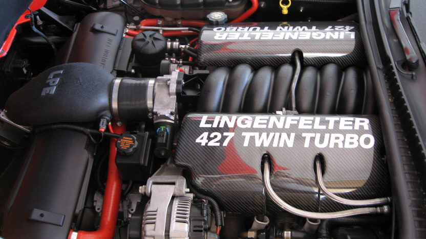 1999 Chevrolet Corvette Coupe Lingenfelter 427 Twin Turbo presented as lot F243 at Indianapolis, IN 2009 - image7