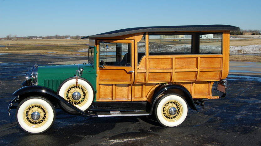 1931 Ford Model A Touring Automatic, Owned by Mary Tyler Moore presented as lot F255 at Indianapolis, IN 2009 - image2