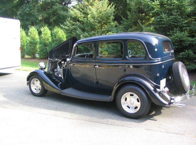 1934 ford 4 door sedan steel street rod mecum for 1934 ford 4 door sedan