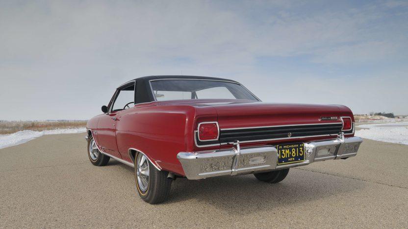 1965 Chevrolet Chevelle Ss Z16 2 Door Hardtop 396 375 Hp