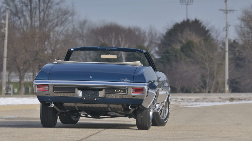 1970 Chevrolet Chevelle Convertible 454/450 HP LS6, 4-Speed, Numbers Matching presented as lot S126 at Indianapolis, IN 2009 - image2