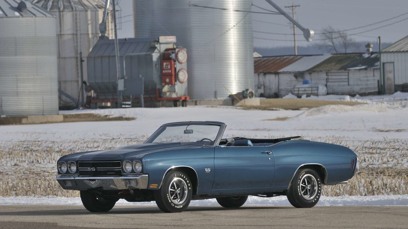 1970 Chevrolet Chevelle Convertible 454/450 HP LS6, 4-Speed, Numbers Matching presented as lot S126 at Indianapolis, IN 2009 - image3