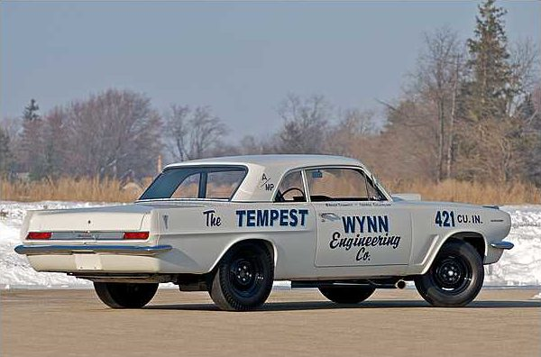 1963 Pontiac Tempest Coupe 421 Super Duty, 1 of 6 Produced presented as lot S114.1 at Indianapolis, IN 2010 - image2
