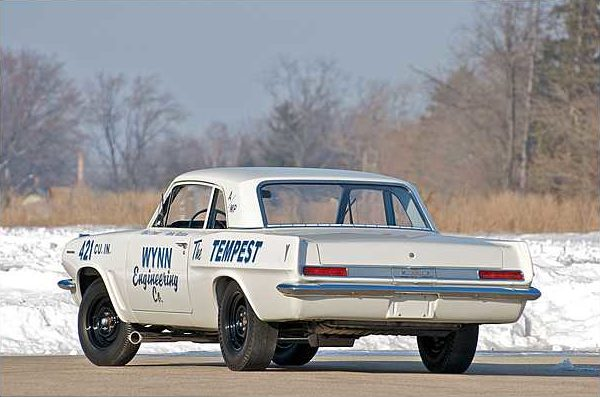 1963 Pontiac Tempest Coupe 421 Super Duty, 1 of 6 Produced presented as lot S114.1 at Indianapolis, IN 2010 - image3