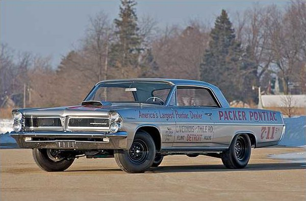 1963 Pontiac Catalina Swiss Cheese 421 Super Duty, 3-Speed, 1 of 14 Produced presented as lot S113 at Indianapolis, IN 2010 - image2