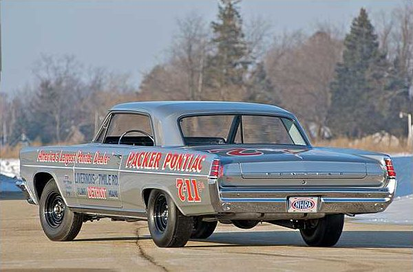 1963 Pontiac Catalina Swiss Cheese 421 Super Duty, 3-Speed, 1 of 14 Produced presented as lot S113 at Indianapolis, IN 2010 - image3
