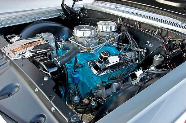 1963 Pontiac Catalina Swiss Cheese 421 Super Duty, 3-Speed, 1 of 14 Produced presented as lot S113 at Indianapolis, IN 2010 - image6