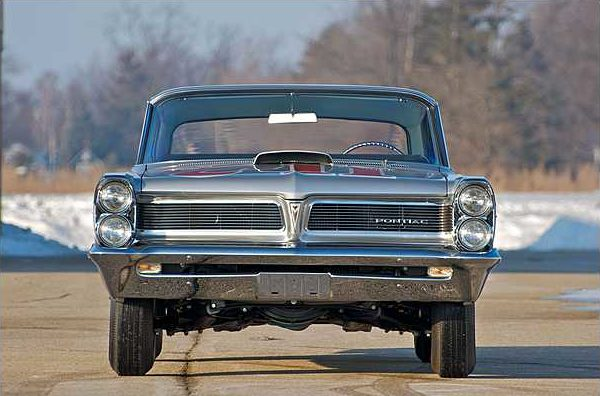 1963 Pontiac Catalina Swiss Cheese 421 Super Duty, 3-Speed, 1 of 14 Produced presented as lot S113 at Indianapolis, IN 2010 - image8