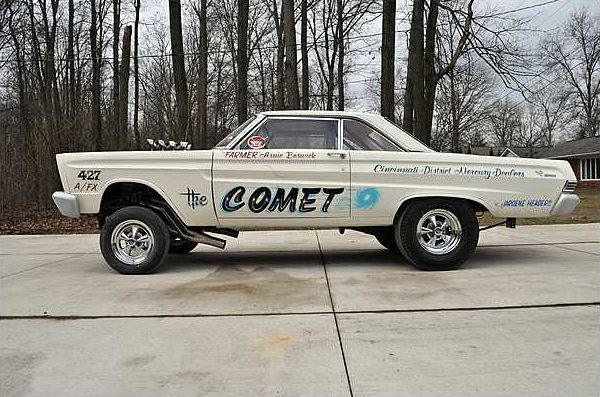 1965 Mercury Comet Factory AFX 427/750 HP, 4-Speed  presented as lot S127 at Indianapolis, IN 2010 - image2