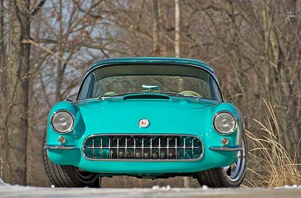 1956 Chevrolet Corvette Resto Mod 401/850 HP, 6-Speed, Newman Chassis presented as lot S151 at Indianapolis, IN 2010 - image7