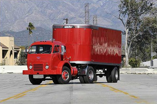 1953 White 3000 Cabover Tractor Trailer 10-Speed   presented as lot S209 at Indianapolis, IN 2010 - image2
