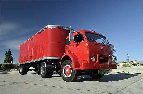 1953 White 3000 Cabover Tractor Trailer 10-Speed   presented as lot S209 at Indianapolis, IN 2010 - image3