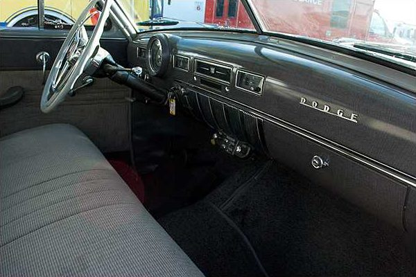 1952 Dodge Coronet 2-Door Sedan 230/103 HP, 3-Speed presented as lot F26 at Indianapolis, IN 2010 - image7