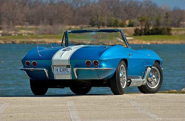 1963 Harley J. Earl Corvette 327/300 HP, 4-Speed  presented as lot S116 at Indianapolis, IN 2010 - image2