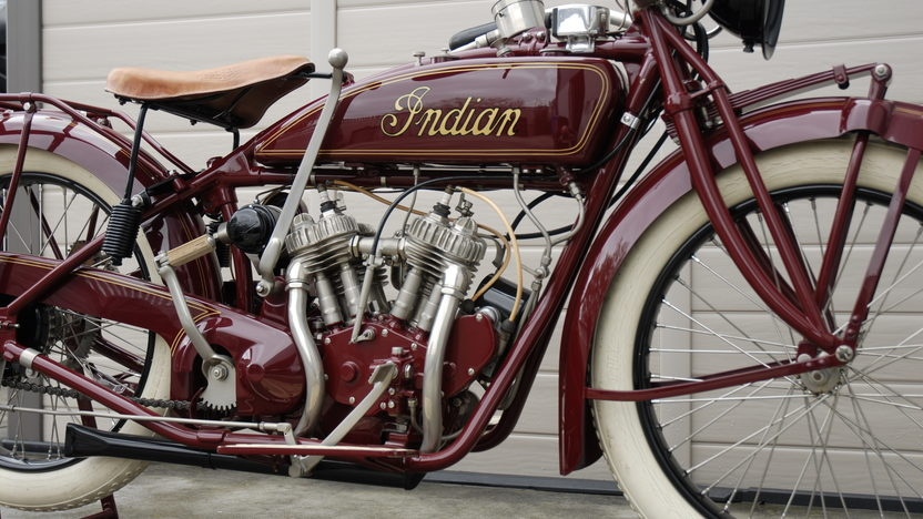 1921 Indian Scout Motorcycle 37 CI presented as lot T228 at Indianapolis, IN 2011 - image2