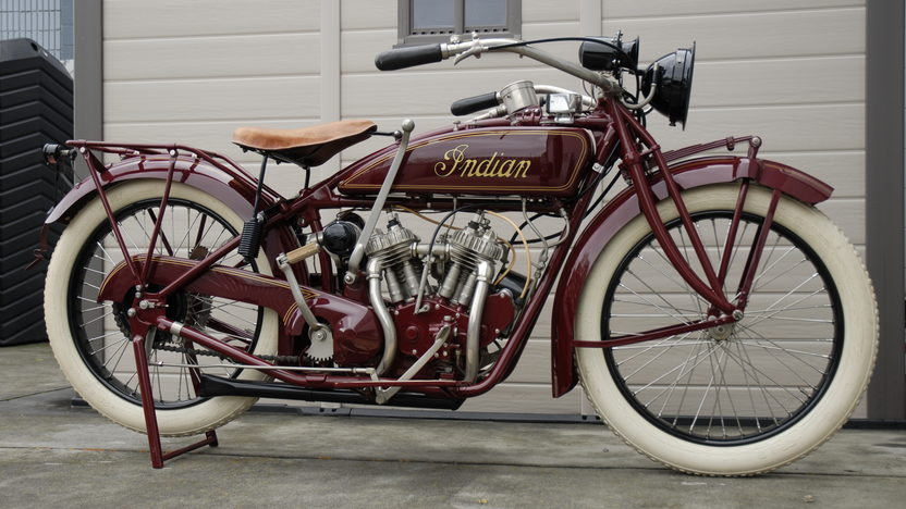 1921 Indian Scout Motorcycle 37 CI presented as lot T228 at Indianapolis, IN 2011 - image3